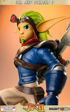 Jak and Daxter 2 (Jak II) Statue by Gaming Heads