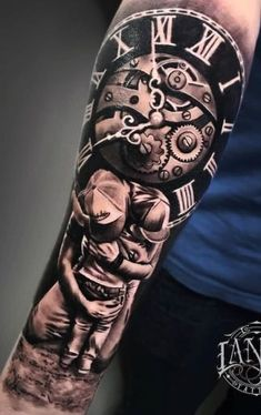 dd55fe051 591 best Clock Tattoo designs images in 2019