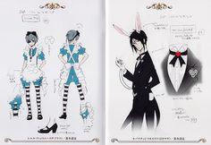Alice Ciel costume  and Bunny Sebaschan!