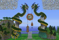 Dragon gate #Minecraft
