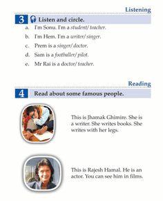 English Book Grade 1 People | English Language - Page 2