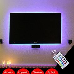 "BASON USB Powered Led TV Backlighting Home Theater Lighting for40-70"" Flat Screen Television by BASON LIGHTING, http://www.amazon.com/dp/B012Z1ZA06/ref=cm_sw_r_pi_dp_OdYyxbQWSCNC6"