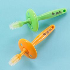 Baby Gum Care: Baby Tooth and Gum Massager by Zoli in Teethers & Rattles