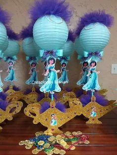 Jasmin Party, Princess Jasmine Party, Disney Princess Party, Princess Birthday, Aladdin Birthday Party, Aladdin Party, Birthday Parties, Arabian Nights Party, Birthday Party Centerpieces
