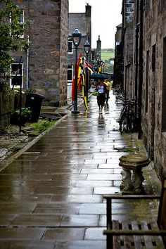 """Footdee is an area of Aberdeen, Scotland known locally as """"Fittie"""". It is an old fishing village at the east end of the harbour. The name is actually folk etymology. Far from being """"Foot of the Dee/Fit o the Dee"""", it is actually a corruption of a former dedication to a """"St Fothan""""."""