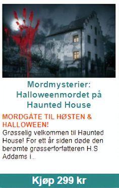 """Halloweenmordet på Haunted House"" utspiller seg på Allhelgensaften og passer perfekt som underholdning for din halloweenfeiring eller en høstmiddag - med koselig grøsserstemning! En mordgåte passer like godt på middagen som på halloweenfesten - med venner, familie, slekt eller kollegaer. Halloween, Movies, Movie Posters, Cold, Films, Film Poster, Popcorn Posters, Cinema, Film Books"
