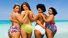 'All bodies should be celebrated': Plus-size models star in swimsuit calendar