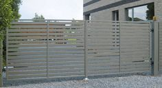 Sliding gates / metal / bar / panel MODERN SYSTEM WISNIOWSKI