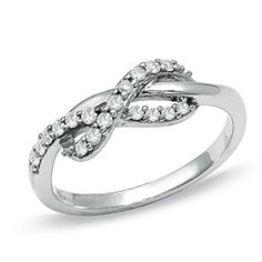 Diamond Infinity Ring..