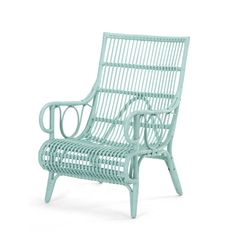 Mint Rattan Romeo Chair   Rattan   Living - Me and My Trend