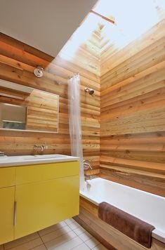 Japanese bath house-inspired