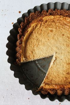 Peanut Butter Cheesecake with Salty Crust