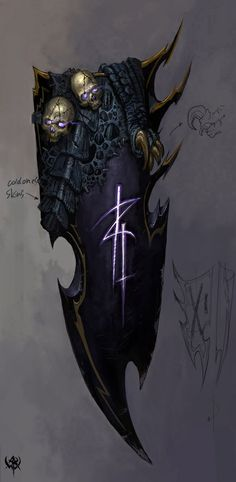Warhammer Online: Age of Reckoning - Artwork video game screenshot 186 Weapon Concept Art, Armor Concept, Fantasy Armor, Fantasy Weapons, Warhammer Online, Warhammer Fantasy, Warhammer Dark Elves, Warhammer 40k, Age Of Sigmar