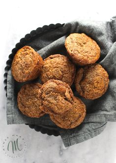 If you have a couple of overripe bananas then whip these muffins up for breakfast. They're easy to make and taste like a single serving of banana bread.