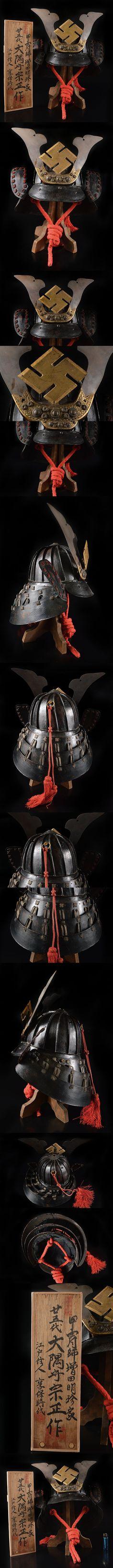 ヤフオク! - 【雲】極上品 江戸 享保時代 甲冑師 増田明珍家 ... Samurai, Auction, Movie Posters, Film Poster, Billboard, Film Posters, Samurai Warrior