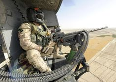 Canadian Door Gunner, Sergeant Chad Zopf, sits back in his Griffon helicopter sea.Photo by: Sergeant Matthew McGregor, Canadian Forces Combat Camera© 2011 DND-MDN Canada x Military Helicopter, Military Gear, Military Aircraft, Special Ops, Special Forces, Gi Joe, Ghost Soldiers, Afghanistan War, Us Marine Corps
