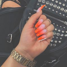 Some of my very most FAQs have to do with my nails! At any time I get my nails done I get tons and also lots of DMs regarding it. What did you do for you nails? Garra, Nails After Acrylics, Acrylic Nails, Clear Acrylic, Nailart, Smart Nails, Sns Nails Colors, Trendy Nail Art, Best Nail Art Designs