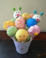Easter Cake Pop Bouquet