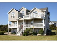 Outer Banks (OBX) rental: Oh, The Places You'll Go  (#655) - Semi-Oceanfront - Fronts Beach Rd 7 bedroomshouse in Southern Shores,