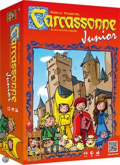 Carcassonne Junior - Bordspel zou een leuk spel zijn , maar om een of andere reden spreekt het mij minder aan