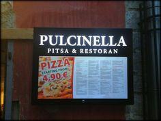 ANNINA IN TALLINNA: Pulcinella, hyvää pizzaq