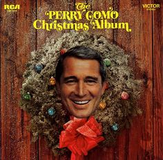 Vintage Christmas Record Album ~ The Perry Como Christmas Album