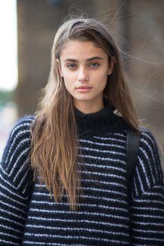 Taylor Marie Hill - London Fashion Week 2015.