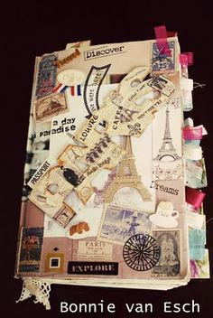 Living life creatively...: Paris Travel Journal 2009 {pics}  Bonnie van Esch...  many more pics on her blog