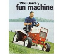 1969 Gravely Lawn Tractor Refrigerator  / Tool Box  Magnet #Magnets