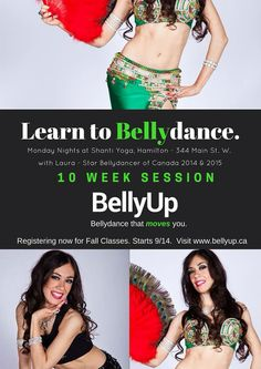Hammer time with Laura! Bellydance classes in Hamilton.