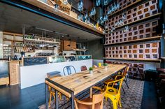Melouk Cafe Bar, Cafe Bar, Conference Room, Table, Furniture, Home Decor, Ideas, Homemade Home Decor, Meeting Rooms, Mesas