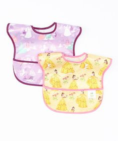 Look what I found on #zulily! Disney Baby Waterproof SuperBib® featuring Disney Princess Set #zulilyfinds