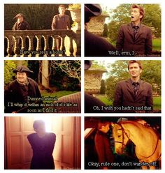 delete scene from doctor who: the girl in the fireplace? Well, he did let rose keep Mickey :)