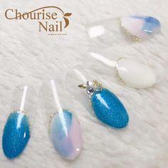 天然石やシェルで夏ネイル!青・ブルー系のネイルデザイン7選 - Latte