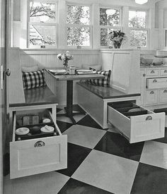 Surprising solutions from early 1900 (for small space living) | http://www.godownsize.com/surprising-solutions-from-early-1900-for-small-space-living/
