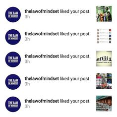 Props out to @thelawofmindset! Thanks for showing love!
