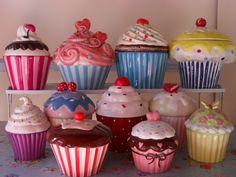 cupcake cookie jars