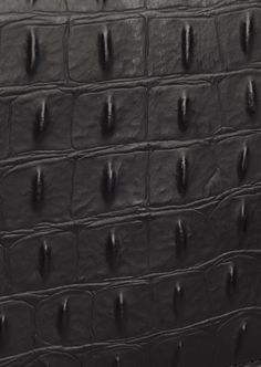 Sharing our love for different textures. Croc-embossed.