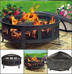 Garden Furniture, Worlds Largest, Outdoor Gardens, Fire, Patio, Steel, Cover, Outdoor Decor, Kitchen
