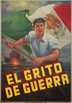 Propaganda de México en la segunda guerra mundial.