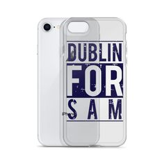 DUBLIN FOR SAM iPhone Case – The Best Value Store Note Fonts, Heading Fonts, Icon Font, Dublin, Colorful Backgrounds, Iphone Cases, Football, Store, Collection