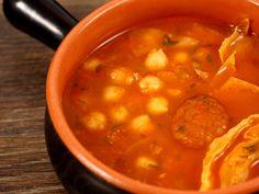 Supa de varza si naut, use varza muratâ Supe, Romanian Food, Hungarian Recipes, Chana Masala, Healthy Eating, Cooking, Ethnic Recipes, Legumes, Salads