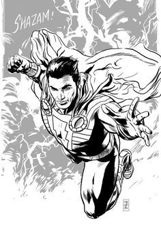 marvel coloring pages shazam | Stuff I want to make in ...