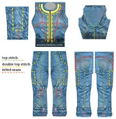 Women's Vault 101 Jumpsuit Pattern - Atomic Ladies Atomic Ladies