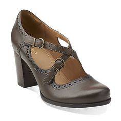 05cdcefe49a0b Orla Dotty in Ochre Leather - Womens Shoes from Clarks