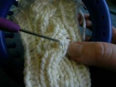 Video how to. Cable stitch, decrease and bind off, I cord seaming, adding beads, etc
