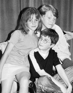 Fetus stars of Harry Potter! - Emma Watson, Daniel Radcliffe and Rupert Grint