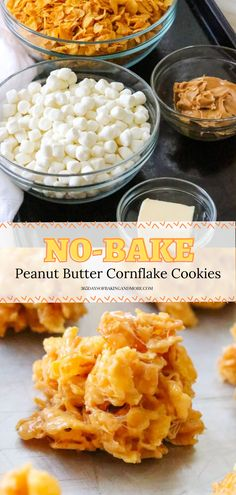 These chewy no-bake cookies are an easy dessert with just 5 ingredients. Plus, they're better than what Grandma used to make because there's NO corn syrup. Shhh…we won't tell! They're the perfect summer cookies!