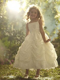 make your flower girl feel like a princess too ^_^ (would just have to match the dress cascade if we got this i think). Disney Blossoms. Alfred Angelo.