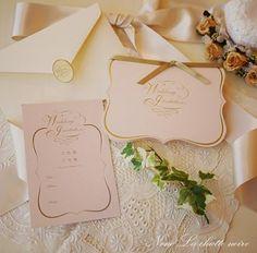 結婚式招待状 プルミエ